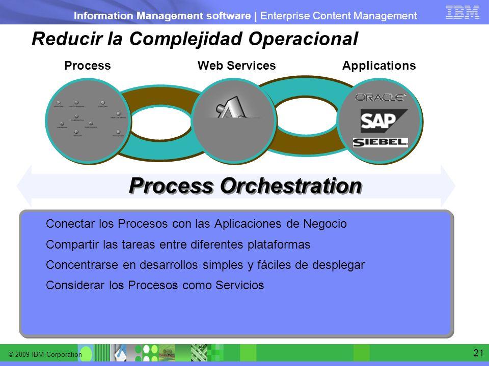 Reducir la Complejidad Operacional