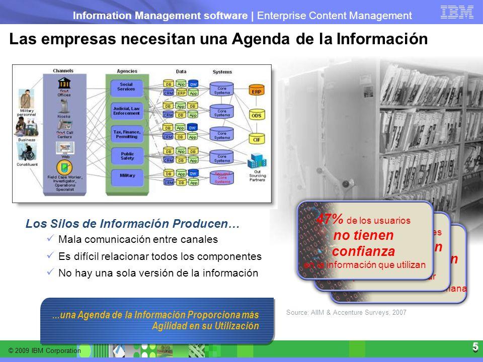 Las empresas necesitan una Agenda de la Información