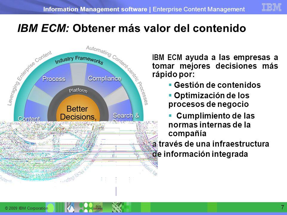 IBM ECM: Obtener más valor del contenido