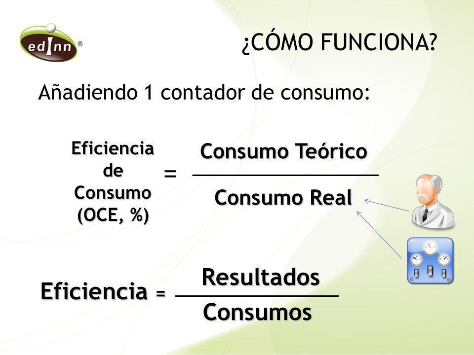 Eficiencia de Consumo (OCE, %)