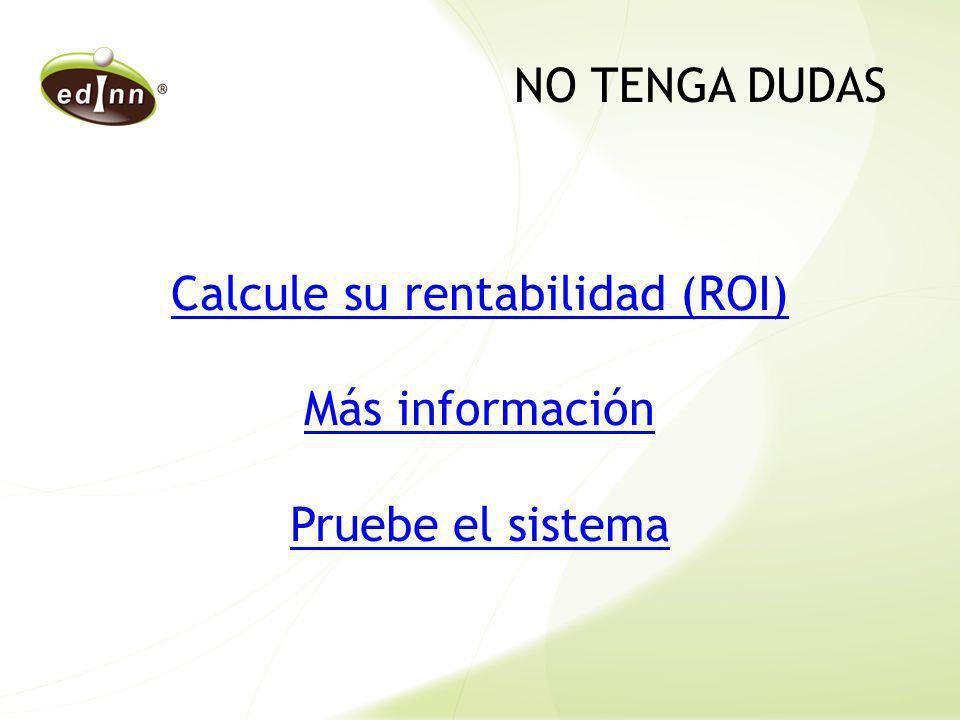 Calcule su rentabilidad (ROI)