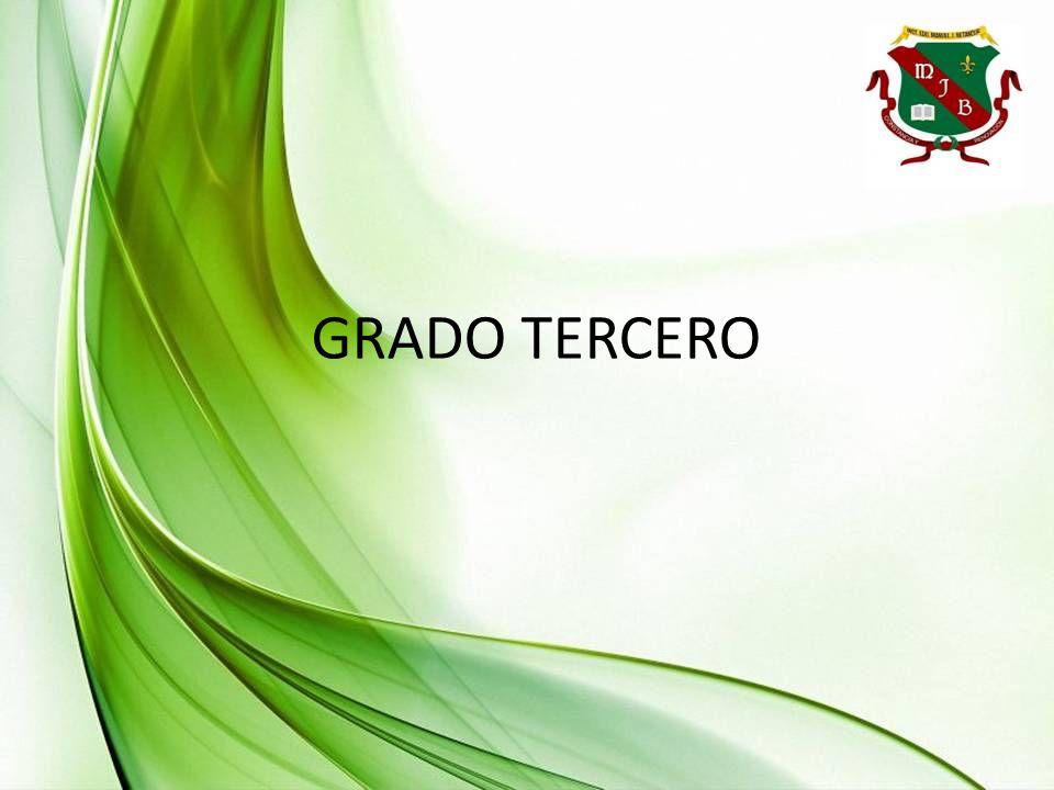 GRADO TERCERO