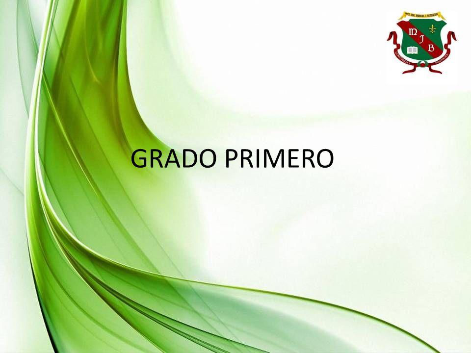 GRADO PRIMERO