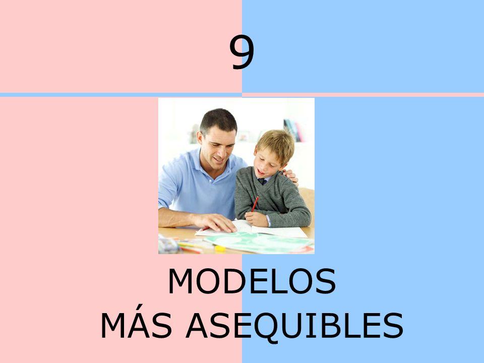 9 MODELOS MÁS ASEQUIBLES