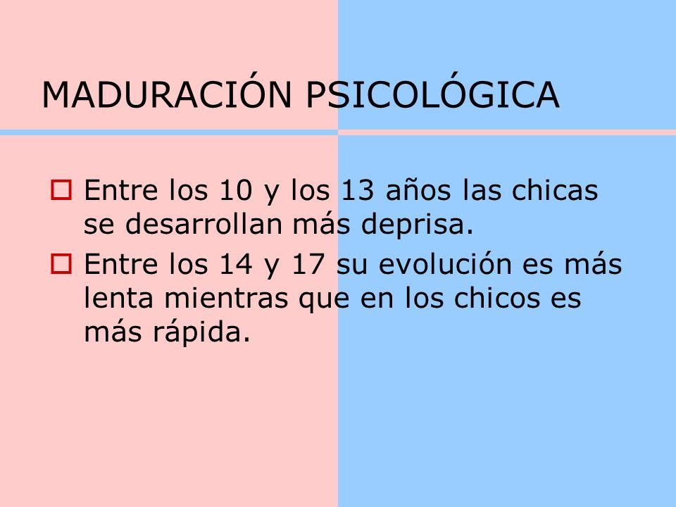 MADURACIÓN PSICOLÓGICA
