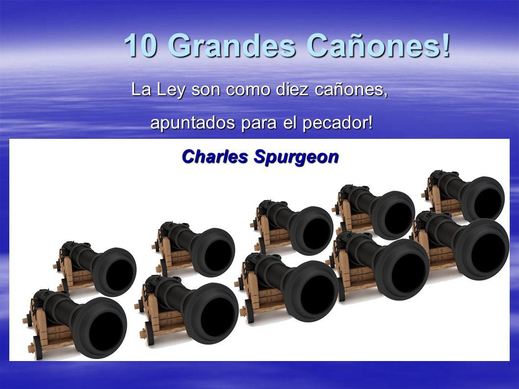 10 Grandes Cañones! La Ley son como diez cañones,