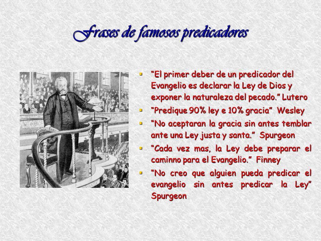 Frases de famosos predicadores