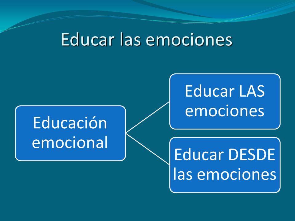 Educar DESDE las emociones