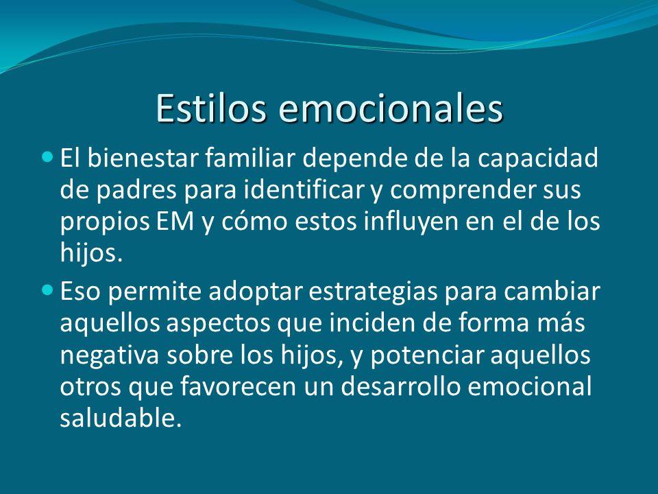 Estilos emocionales