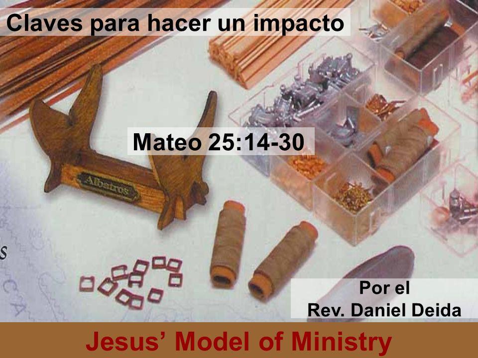 Claves para hacer un impacto Jesus' Model of Ministry