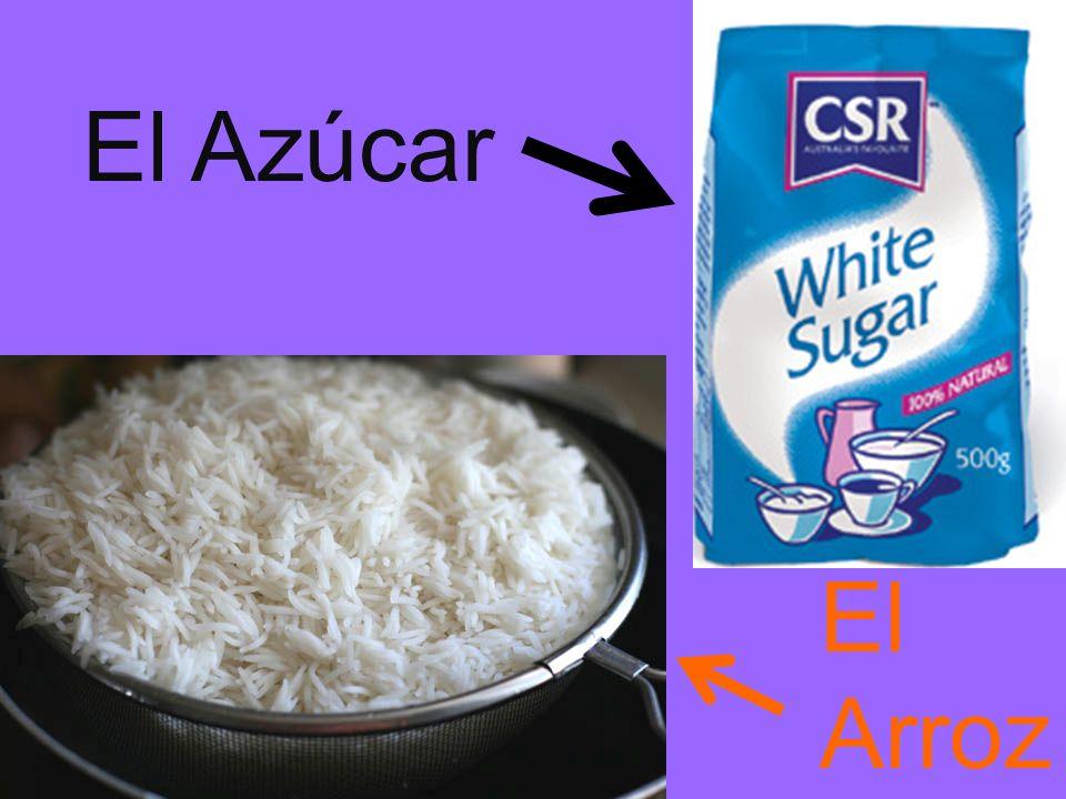 El Azúcar El Arroz