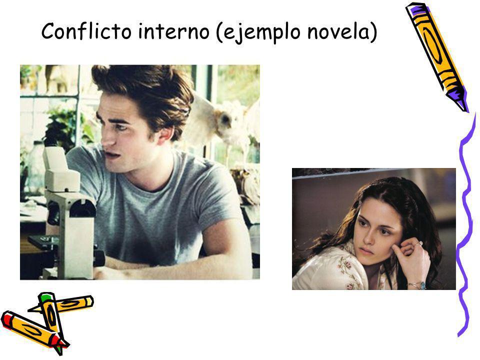 Conflicto interno (ejemplo novela)