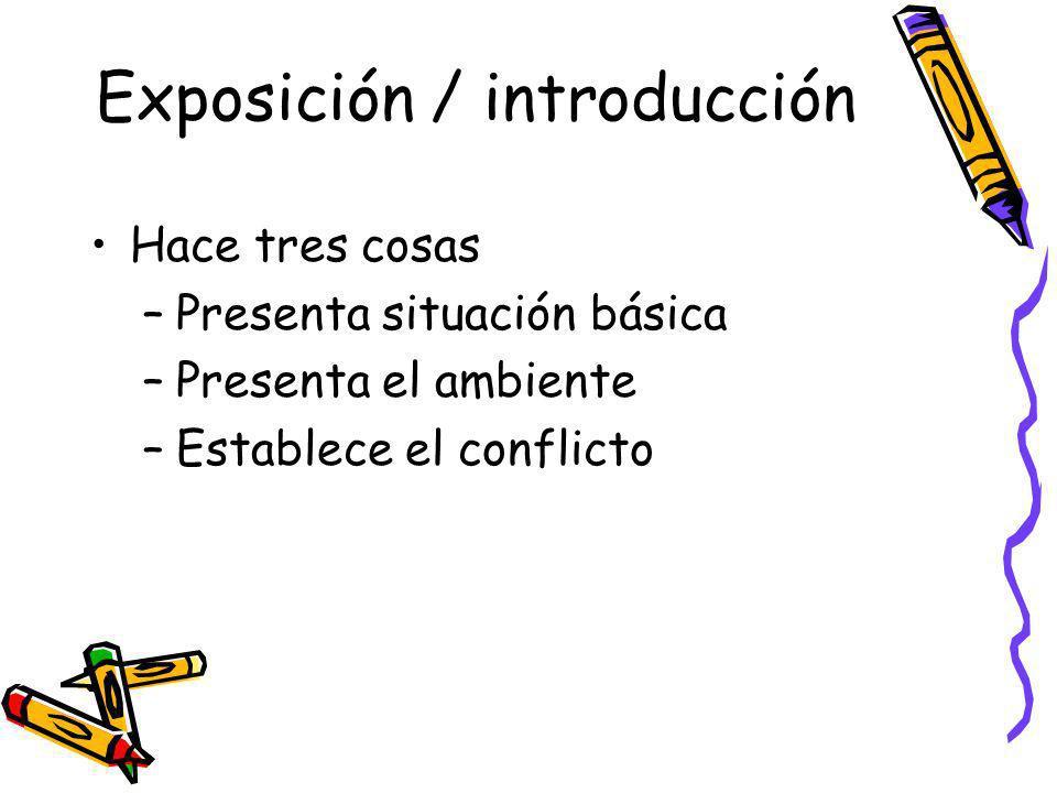 Exposición / introducción