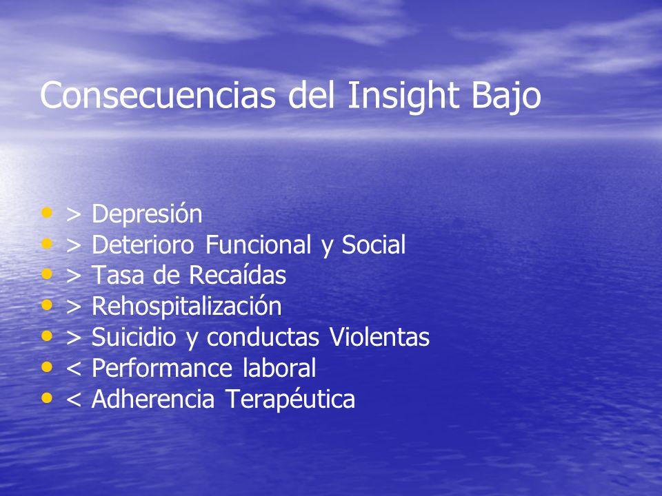 Consecuencias del Insight Bajo