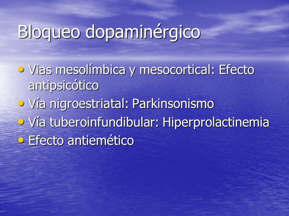 Bloqueo dopaminérgico