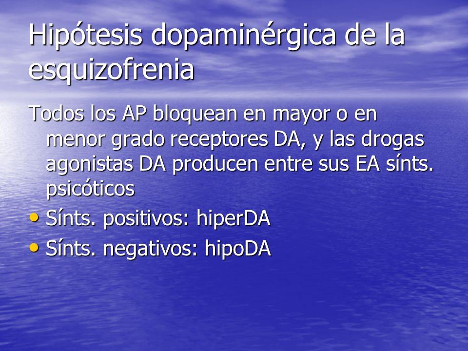 Hipótesis dopaminérgica de la esquizofrenia