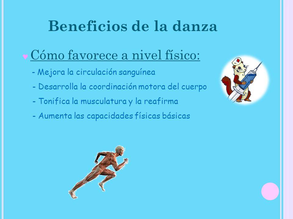 Beneficios de la danza - Mejora la circulación sanguínea
