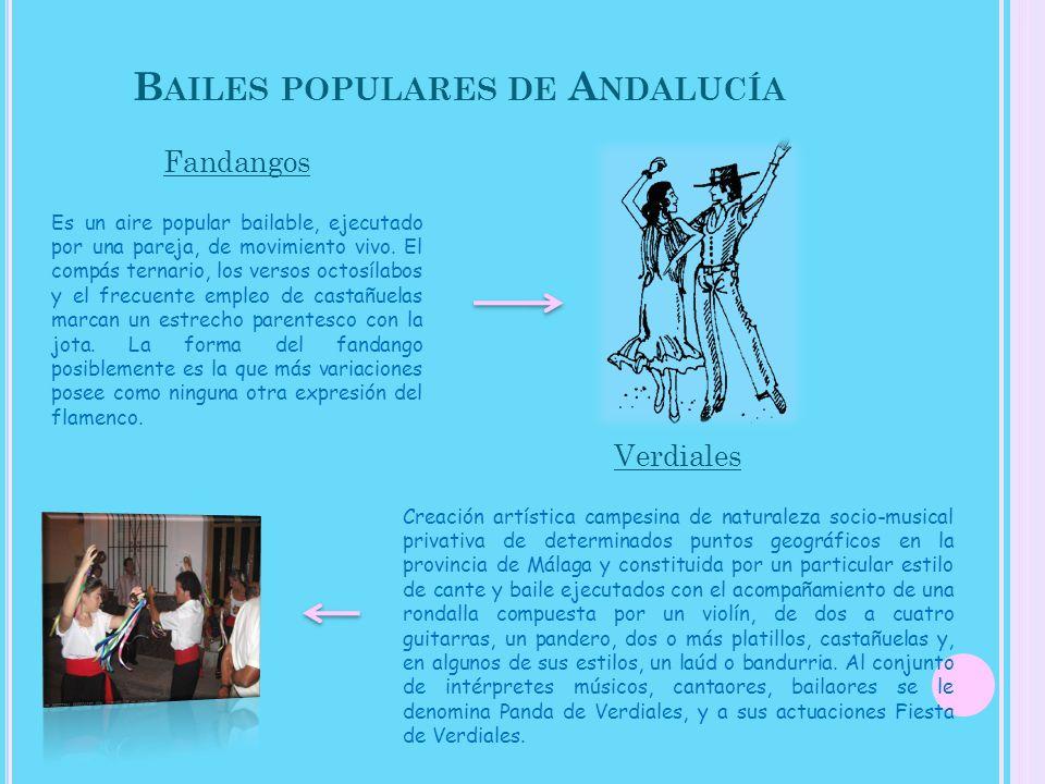 Bailes populares de Andalucía