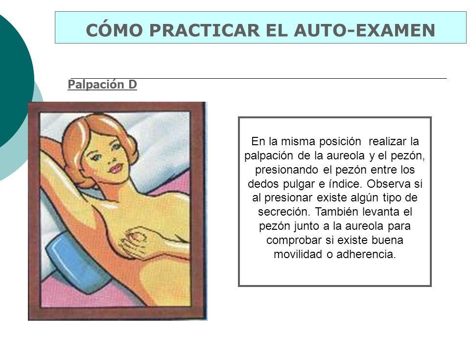 CÓMO PRACTICAR EL AUTO-EXAMEN