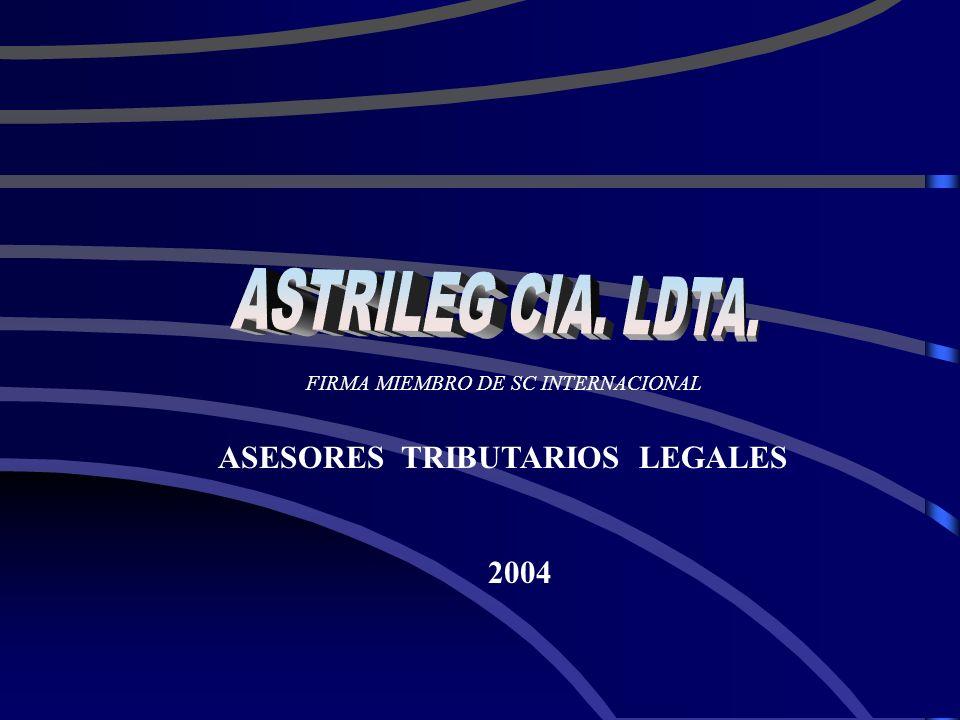 ASTRILEG CIA. LDTA. ASESORES TRIBUTARIOS LEGALES 2004