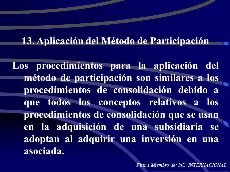13. Aplicación del Método de Participación