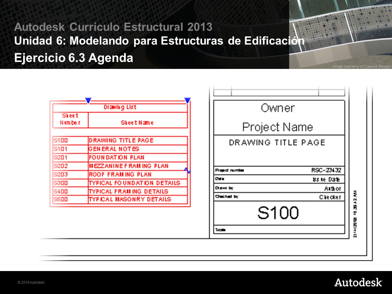 Ejercicio 6.3 Agenda