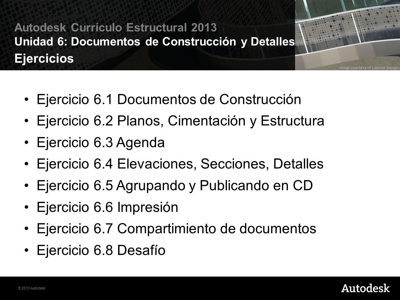 Ejercicio 6.1 Documentos de Construcción