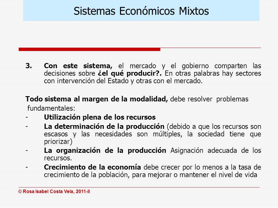 Sistemas Económicos Mixtos