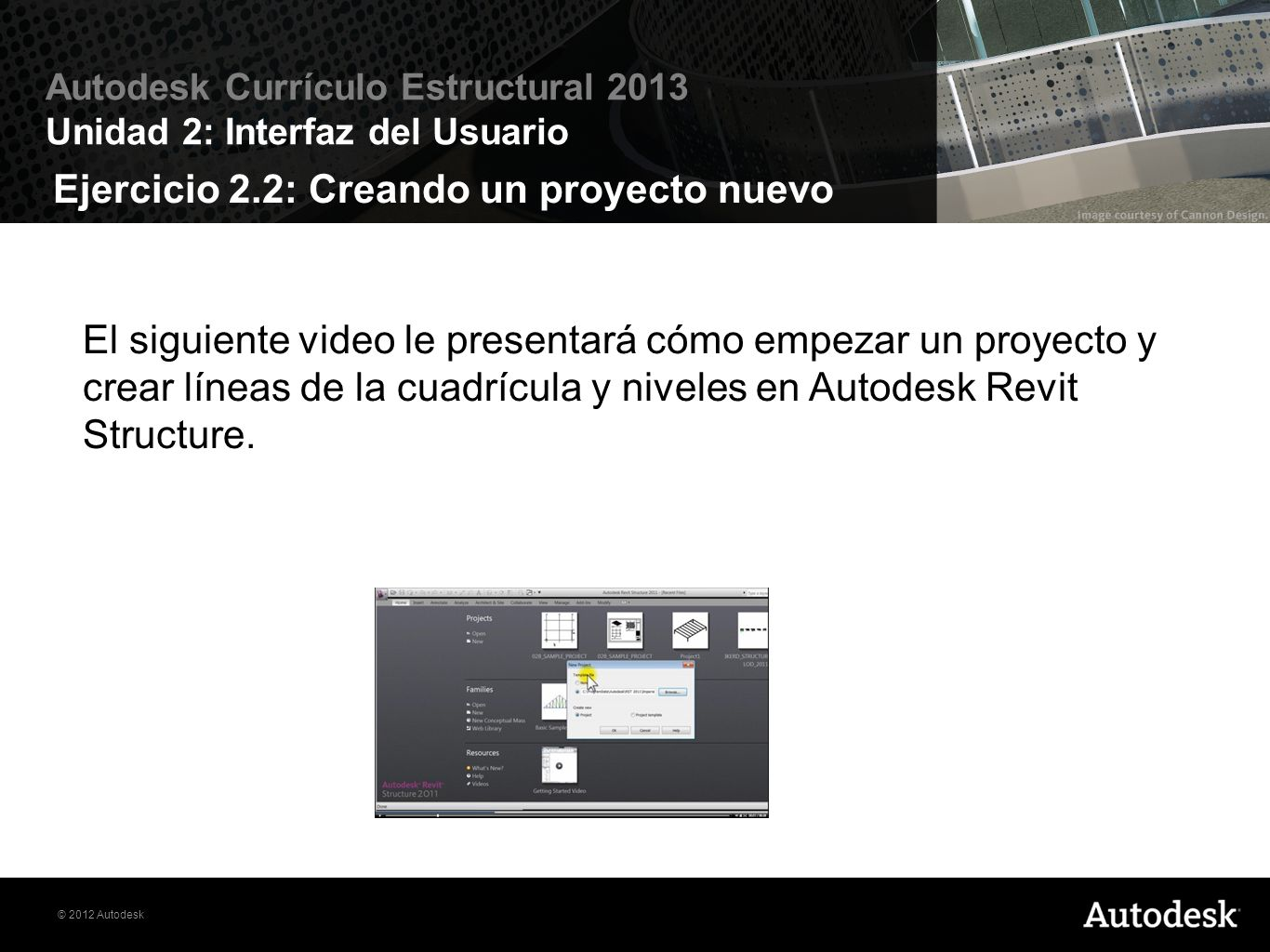 Ejercicio 2.2: Creando un proyecto nuevo