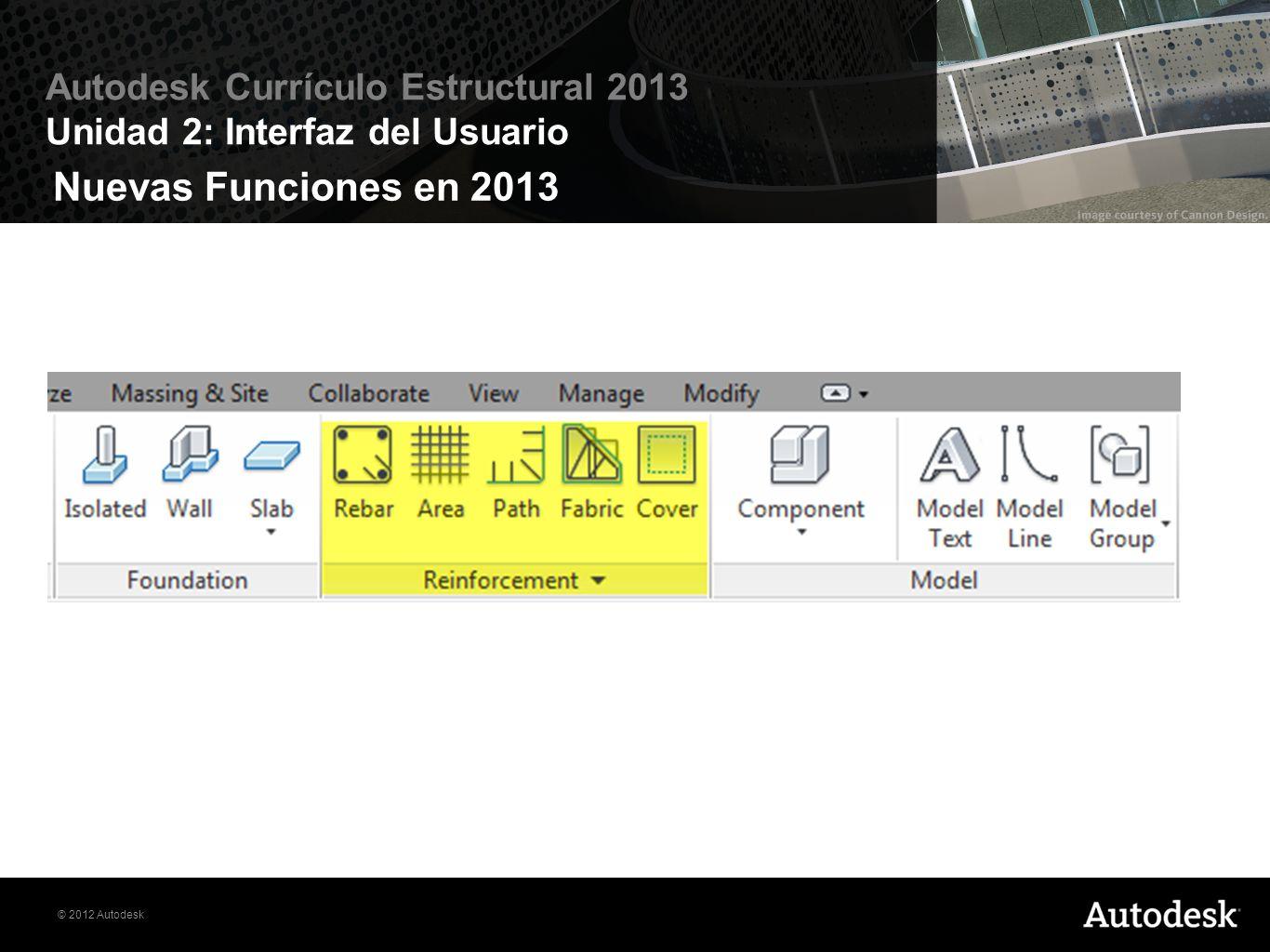 Nuevas Funciones en 2013