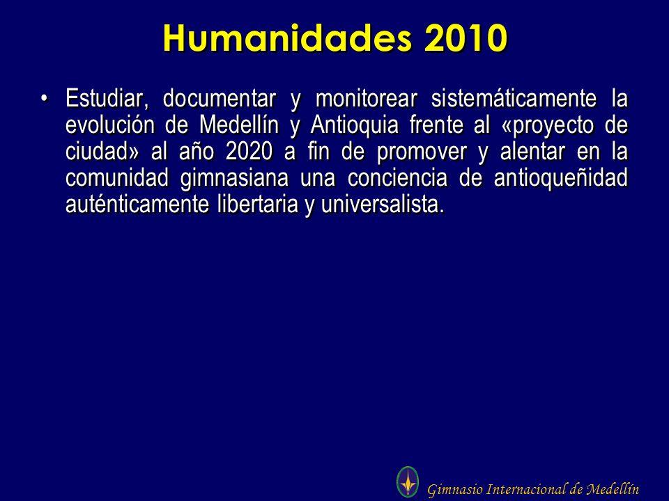 Humanidades 2010