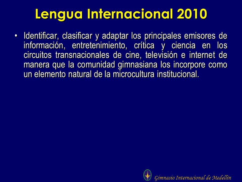 Lengua Internacional 2010