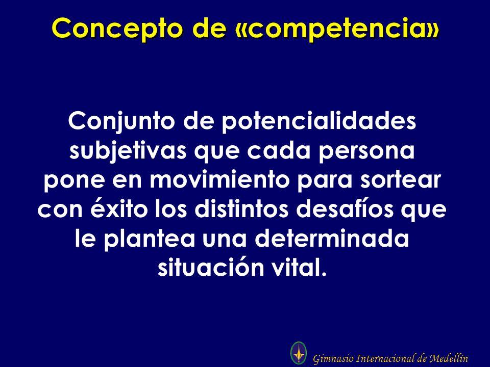 Concepto de «competencia»
