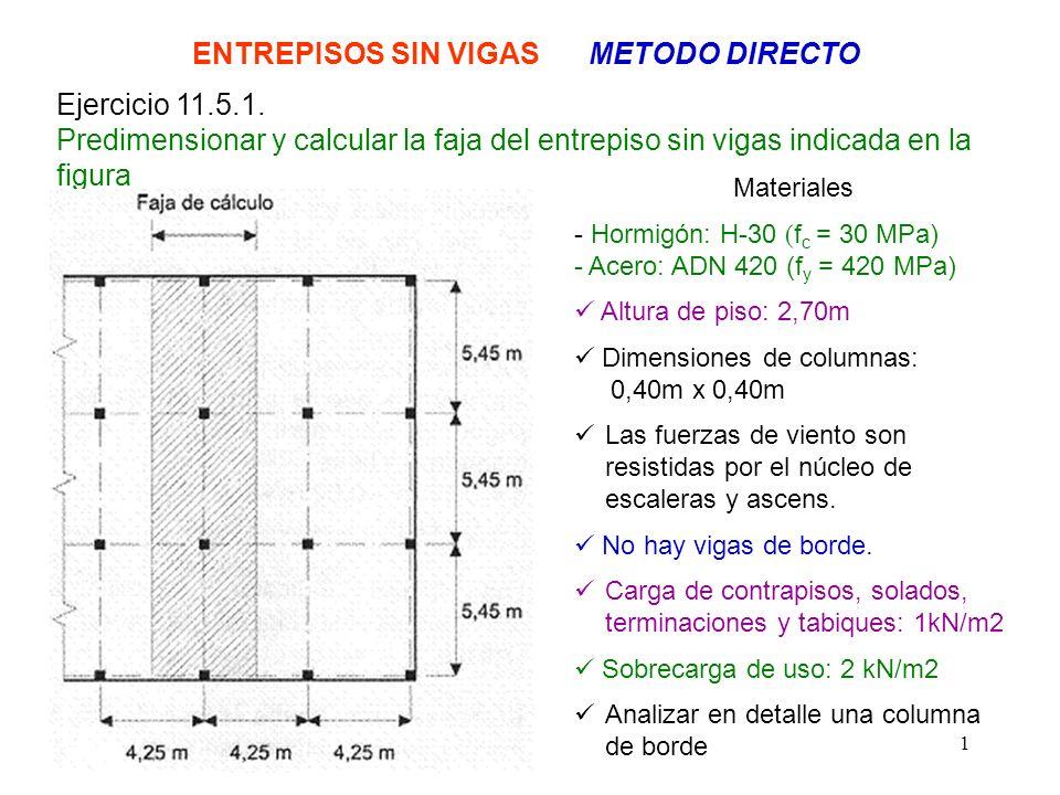 ENTREPISOS SIN VIGAS METODO DIRECTO