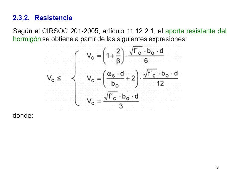 2.3.2. Resistencia
