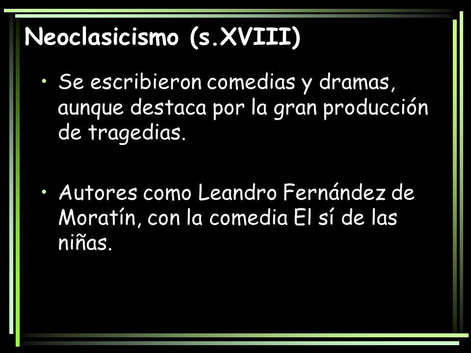 Neoclasicismo (s.XVIII)