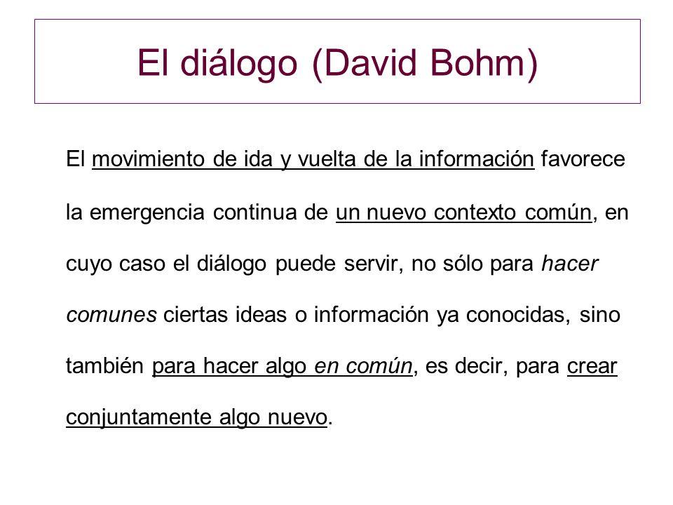 El diálogo (David Bohm)