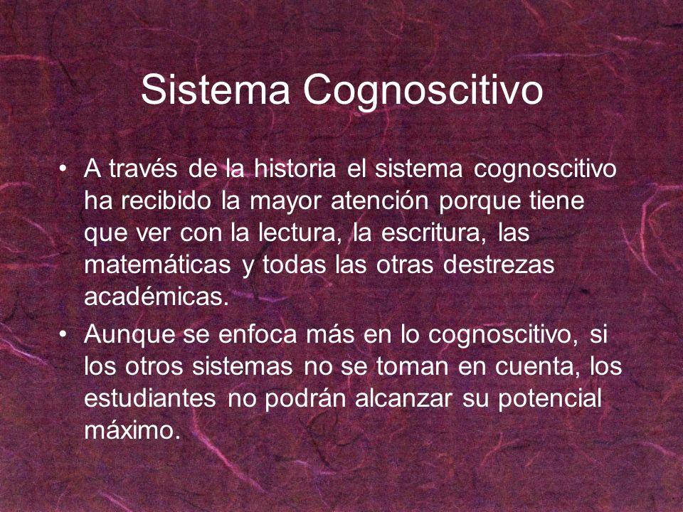 Sistema Cognoscitivo