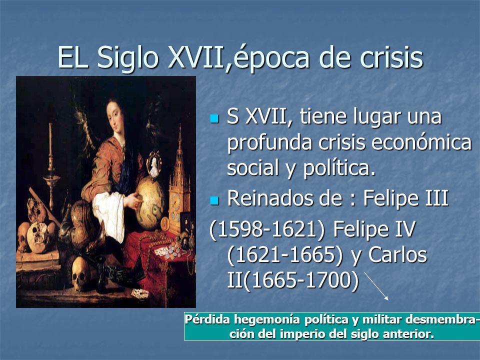 EL Siglo XVII,época de crisis