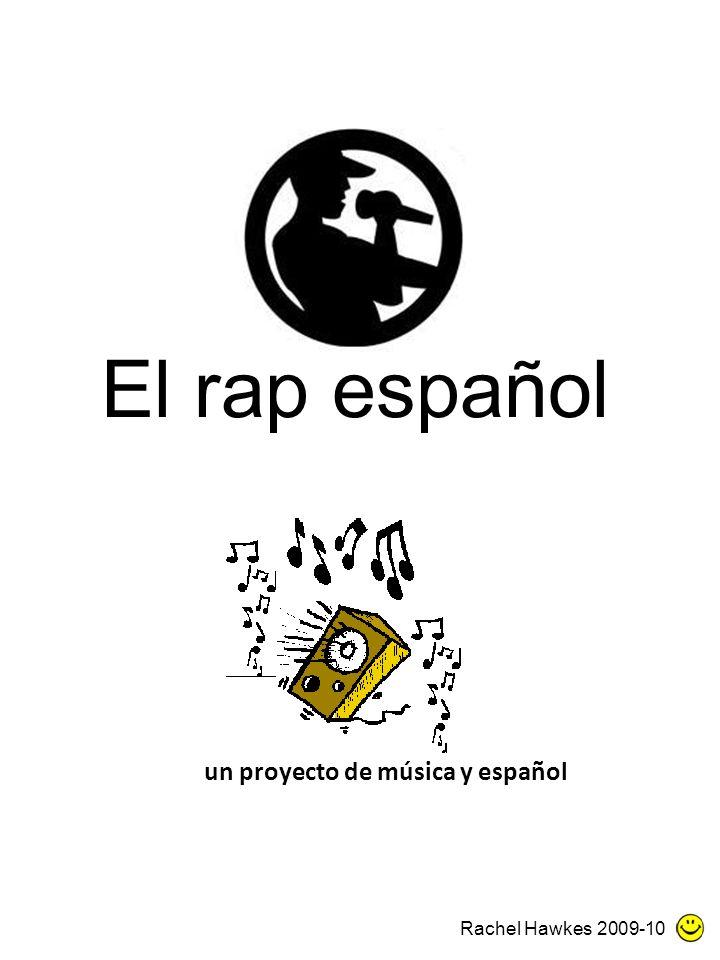un proyecto de música y español