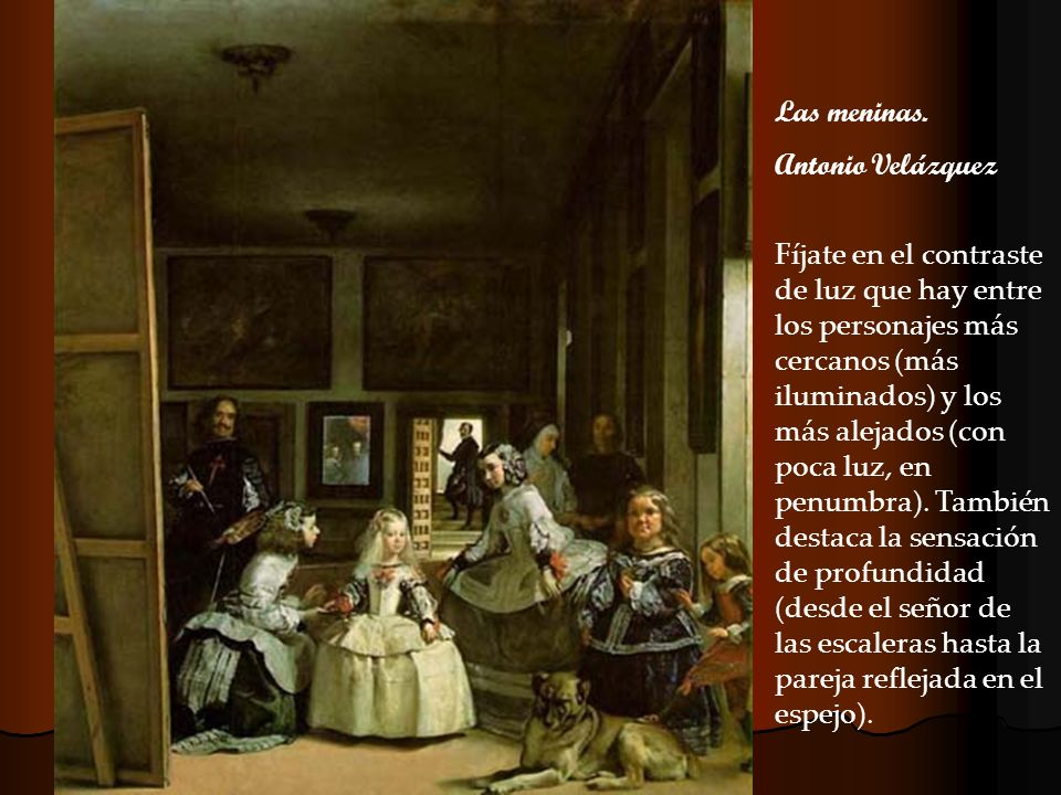 Las meninas. Antonio Velázquez.