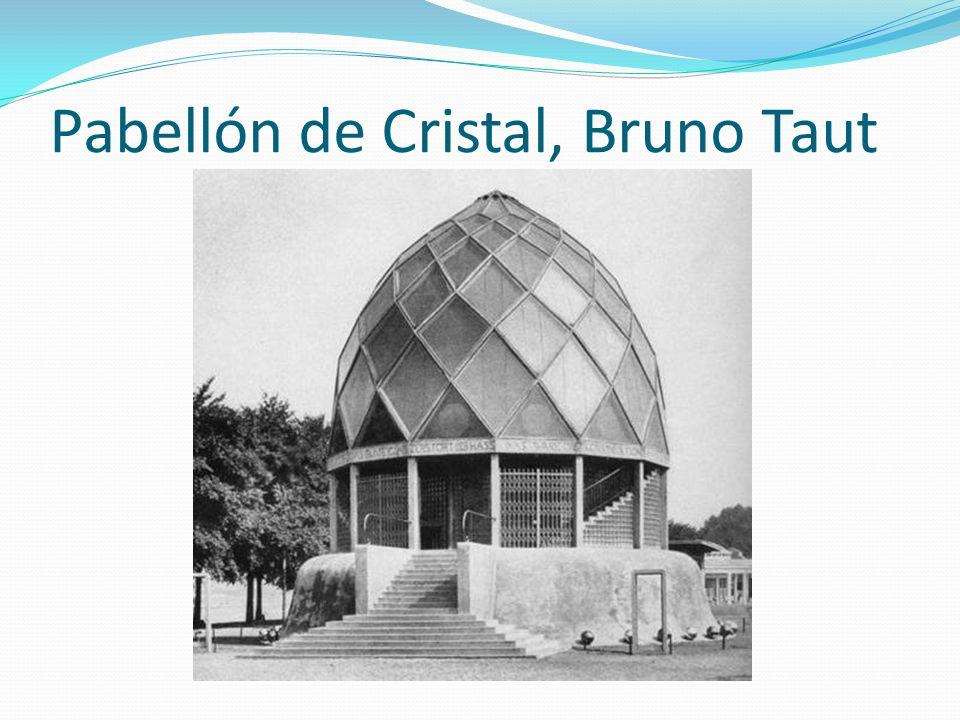 Pabellón de Cristal, Bruno Taut