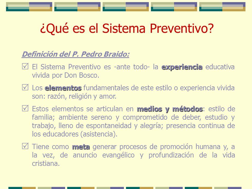 ¿Qué es el Sistema Preventivo