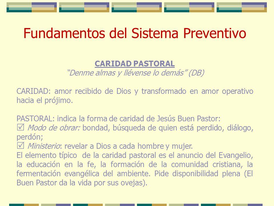 Fundamentos del Sistema Preventivo