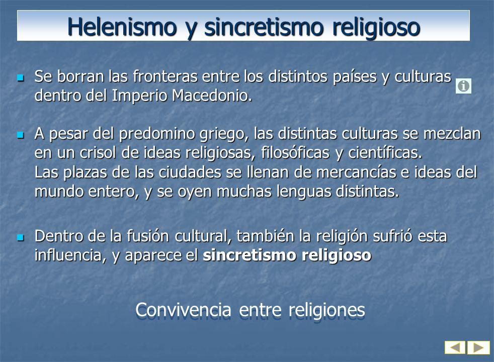 Helenismo y sincretismo religioso