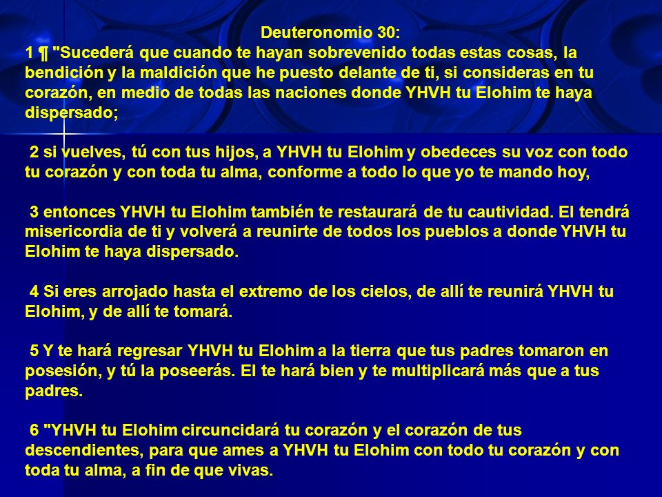 Deuteronomio 30: