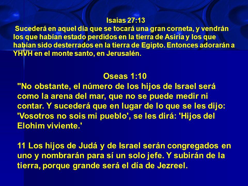 Isaias 27:13