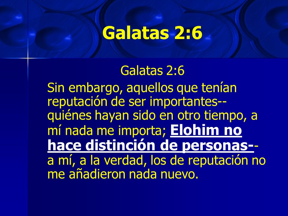 Galatas 2:6Galatas 2:6.