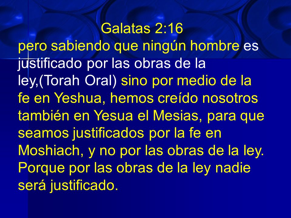 Galatas 2:16