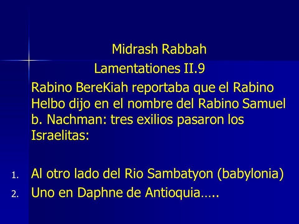 Al otro lado del Rio Sambatyon (babylonia)